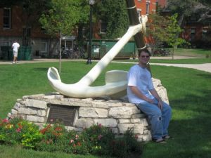 Zach starting college in 2010